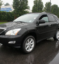 lexus rx 350 2009 black suv premium plus package gasoline 6 cylinders all whee drive 07755