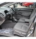 honda civic 2010 dk  gray sedan gasoline 4 cylinders front wheel drive 5 speed automatic 77065