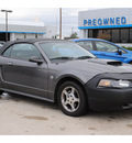 ford mustang 2004 dk  gray deluxe gasoline 6 cylinders rear wheel drive automatic with overdrive 77090