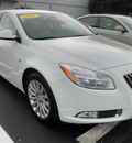 buick regal 2011 white sedan cxl gasoline 4 cylinders front wheel drive automatic 34474