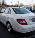 mercedes benz c class 2008 white sedan c300 4matic luxury gasoline 6 cylinders all whee drive automatic 07701