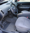 toyota prius 2006 gray hatchback hybrid 4 cylinders front wheel drive automatic 75228