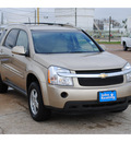 chevrolet equinox 2007 gold suv lt gasoline 6 cylinders front wheel drive automatic 77037