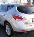 nissan murano 2011 silver gasoline 6 cylinders front wheel drive automatic 34474