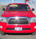 toyota tacoma 2007 red prerunner v6 gasoline 6 cylinders rear wheel drive automatic 79925