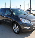 chevrolet traverse 2009 gray suv ltz gasoline 6 cylinders front wheel drive automatic 76087