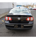 volkswagen passat 2006 black sedan 3 6 gasoline 6 cylinders front wheel drive automatic 07712