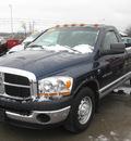 dodge ram pickup 2500 2006 blue pickup truck st diesel 6 cylinders rear wheel drive 6 speed manual 62863