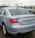 chrysler 200 2012 lt  blue sedan touring gasoline 4 cylinders front wheel drive 6 speed automatic 62863
