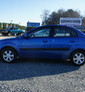 kia rio 2006 blue sedan lx gasoline 4 cylinders front wheel drive automatic 27569