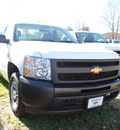 chevrolet silverado 1500 2012 white work truck gasoline 6 cylinders 2 wheel drive automatic 27591