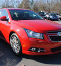 chevrolet cruze 2012 red sedan lt gasoline 4 cylinders front wheel drive automatic 27591