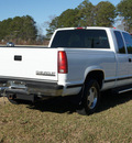 chevrolet c k 1500 series 1998 white pickup truck c1500 silverado gasoline v8 rear wheel drive automatic 27569