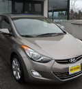 hyundai elantra 2012 gold sedan limited 4 cylinders front wheel drive automatic 99208