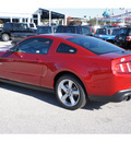 ford mustang 2012 red coupe gt premium gasoline 8 cylinders rear wheel drive 6 speed manual 77388