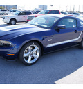 ford mustang 2012 dk  blue coupe gt premium gasoline 8 cylinders rear wheel drive 6 speed manual 77388