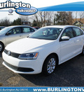 volkswagen jetta 2012 white sedan se conv sunroof gasoline 5 cylinders front wheel drive 6 speed automatic 08016