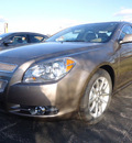 chevrolet malibu 2012 brown sedan ltz gasoline 4 cylinders front wheel drive automatic 60007