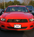 ford mustang 2012 red coupe v6 gasoline 6 cylinders rear wheel drive 6 speed manual 08753