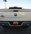 dodge ram pickup 1500 2010 white pickup truck slt gasoline 8 cylinders 2 wheel drive automatic 33157
