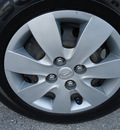 hyundai accent 2008 black hatchback gs gasoline 4 cylinders front wheel drive automatic 33157