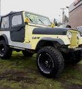 jeep cj7 1979 yellow suv v8 manual 98371