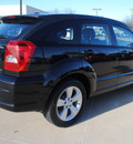 dodge caliber 2010 black hatchback sxt gasoline 4 cylinders front wheel drive automatic 75228