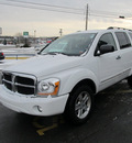 dodge durango 2006 white suv limited 8 cylinders 4 wheel drive automatic 13502