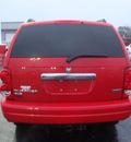 dodge durango 2006 red suv slt gasoline 8 cylinders 4 wheel drive automatic 60443
