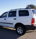 dodge durango 2007 white suv sxt flex fuel 8 cylinders rear wheel drive automatic 76018