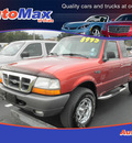 ford ranger 1998 orange xlt gasoline v6 4 wheel drive 5 speed manual 34474