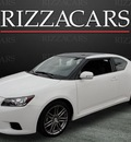 scion tc 2011 white hatchback gasoline 4 cylinders front wheel drive automatic with overdrive 60546