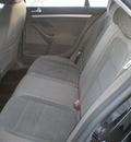 volkswagen jetta 2007 black sedan gasoline 5 cylinders front wheel drive automatic 13502