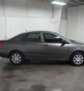 toyota corolla 2007 gray sedan ce gasoline 4 cylinders front wheel drive automatic with overdrive 76108