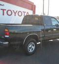 toyota tundra sr5 2001 green pickup truck sr5 gasoline 8 cylinders dohc rear wheel drive automatic 79925