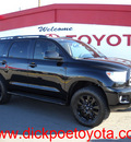 toyota sequoia 2010 black suv limited gasoline 8 cylinders 4 wheel drive automatic 79925