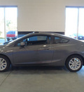honda civic 2012 gray coupe ex gasoline 4 cylinders front wheel drive automatic 28557