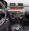 mazda mazdaspeed3 2007 black hatchback gasoline 4 cylinders front wheel drive 6 speed manual 98371