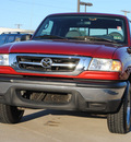 mazda truck 2003 red b3000 se flex fuel 6 cylinders rear wheel drive automatic 75228