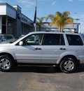 honda pilot 2003 silver suv ex l gasoline 6 cylinders sohc all whee drive automatic 94063