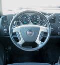 gmc sierra 1500 2007 silver pickup truck crew cab sle z71 4x4 gasoline 8 cylinders 4 wheel drive automatic 55124