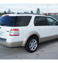 ford taurus x 2008 white suv eddie bauer gasoline 6 cylinders front wheel drive automatic 77388