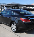 buick lacrosse 2011 black sedan cxl gasoline 4 cylinders front wheel drive automatic 76087