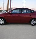 hyundai elantra 2007 red sedan gls gasoline 4 cylinders front wheel drive automatic 75228