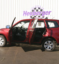 subaru forester 2009 camellia red suv 2 5 x gasoline 4 cylinders all whee drive 5 speed manual 80905