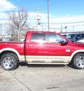 ram ram pickup 1500 2011 deep cherry red cry laramie longhorn gasoline 8 cylinders 4 wheel drive automatic 80301