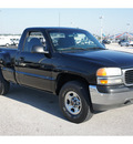 gmc sierra 1500 1999 black pickup truck sl gasoline v6 4 wheel drive automatic 77388