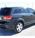 dodge journey 2009 black suv sxt gasoline 6 cylinders front wheel drive automatic 77388