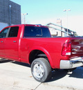 ram ram pickup 3500 2012 deep cherry red cry laramie diesel 6 cylinders 4 wheel drive automatic 80301