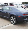 chevrolet camaro 2012 blue coupe 1 lt gasoline 6 cylinders rear wheel drive 6 spd auto conv and conni 77090
